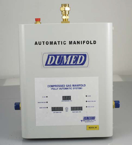 DUMED Medical Gas Supply Manifold (Fully Automatic)