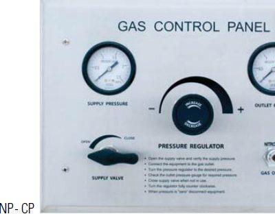 DUMED Nitrogen /Air Control Panel