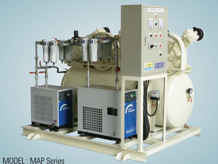 DUMED Compressed Air Plant