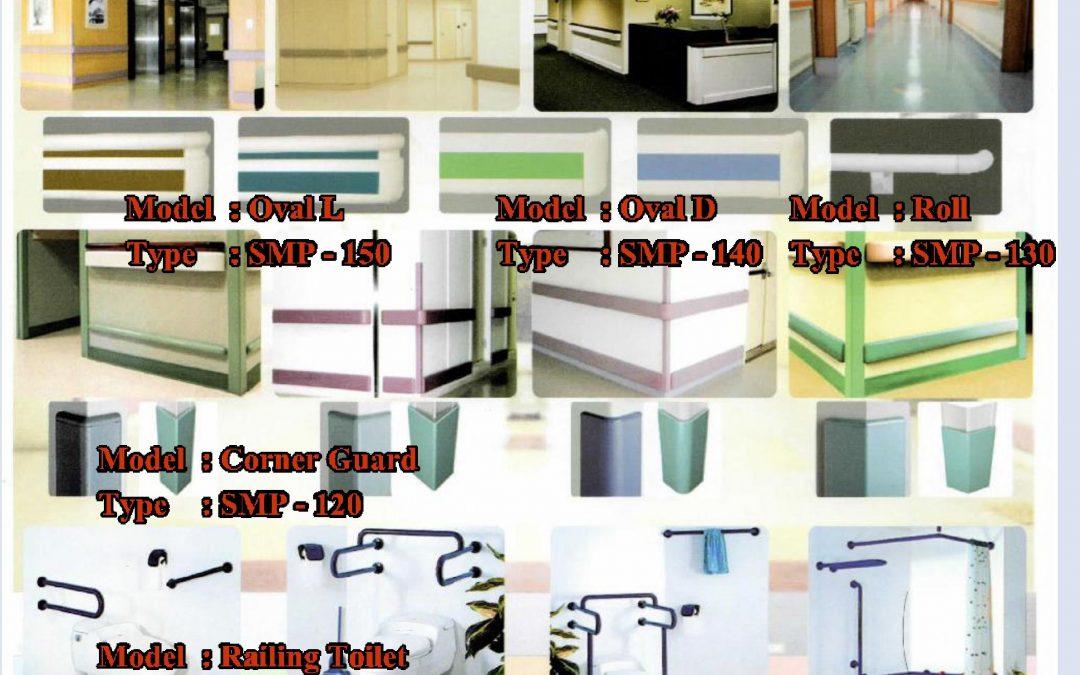 Handrail, Wall Guard, Corner Guar, Toilet and Shower Rail