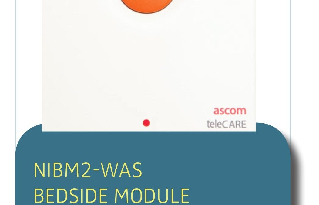 NURSE CALL SOLUTION NIBM2-WAS BEDSIDE MODULE