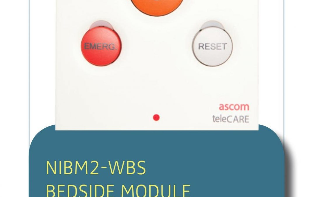 NURSE CALL SOLUTION NIBM2-WBS BEDSIDE MODULE