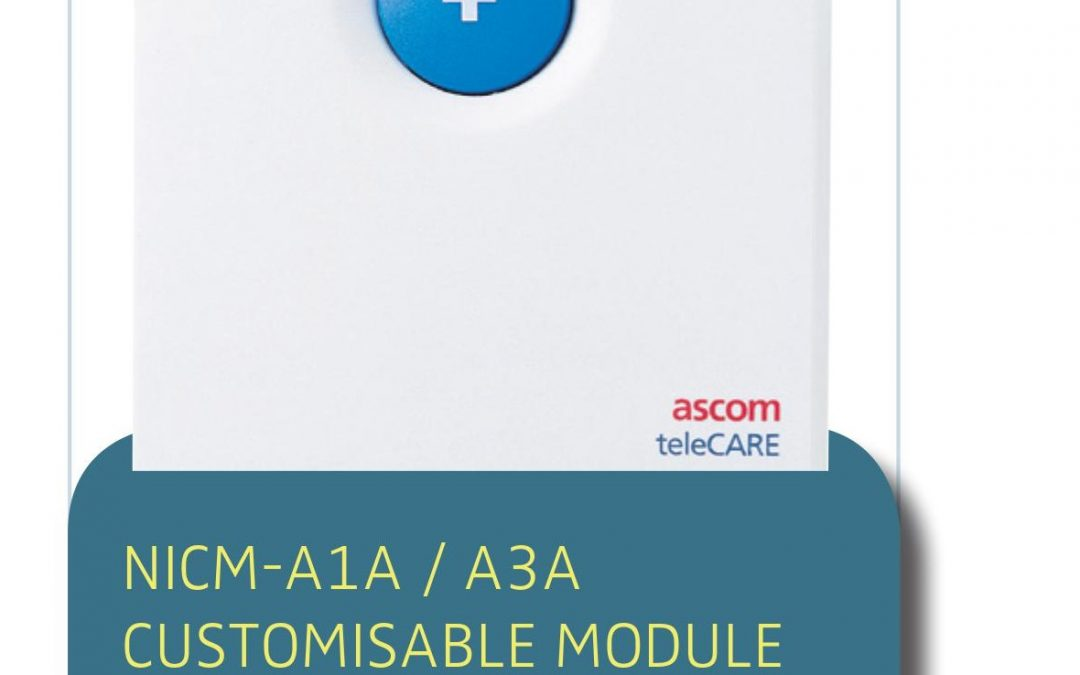 NURSE CALL SOLUTION NICM-A1A / A3A CUSTOMISABLE MODULE
