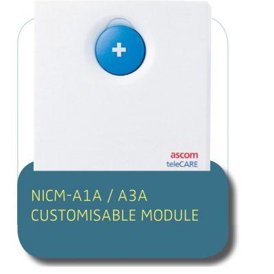 NURSE CALL SOLUTION NICM-A1A / A3A CUSTOMISABLE MODULE