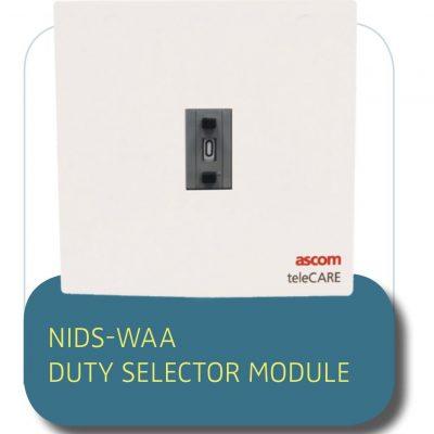 NURSE CALL SOLUTION NIDS-WAA DUTY SELECTOR MODULE